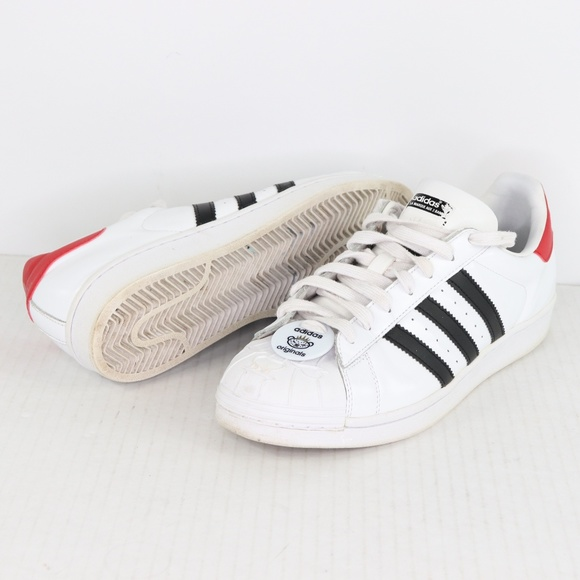 Adidas Mens 9.5 Nigo Bearfoot Superstar Shoes